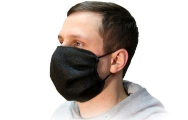 Защитная маска из нетканого материала (многоразовая).